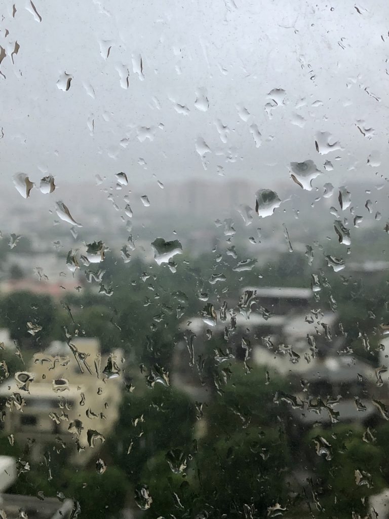 Rains in Gurgaon